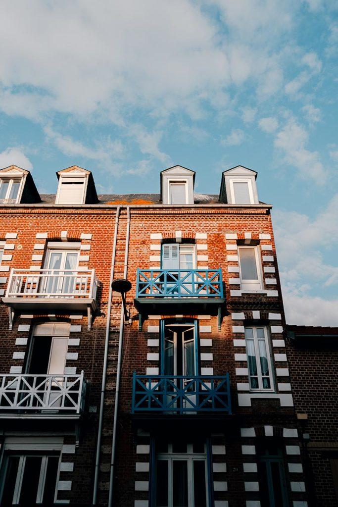 Baie de Somme Mers-les-Bains maisons colorées Refuse to hibernate