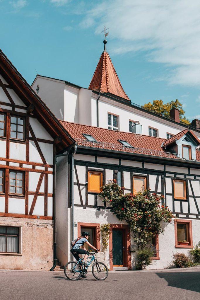 Pforzheim visiter Dillweissenstein maisons vélo Refuse to hibernate