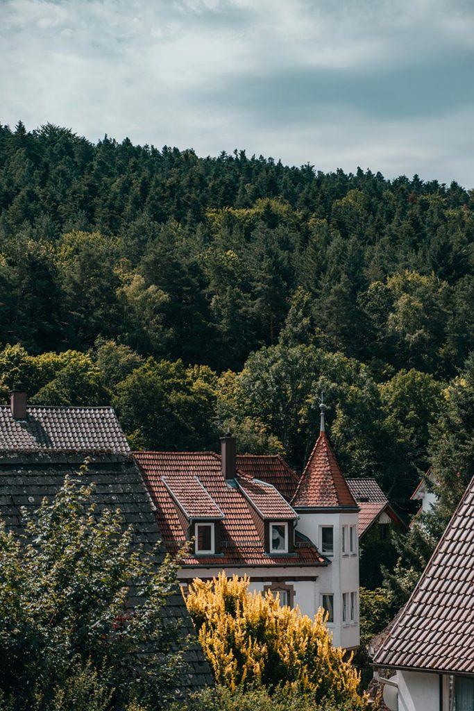 Pforzheim visiter Dillweissenstein maisons Refuse to hibernate