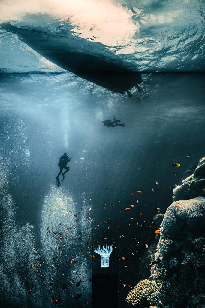 Pforzheim visiter Gazomètre photo sous l'eau Refuse to hibernate
