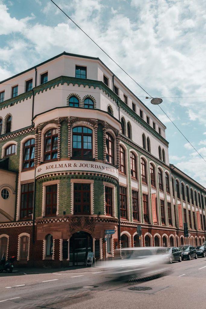 Pforzheim visiter Musée de la bijouterie et de l'horlogerie façade Refuse to hibernate