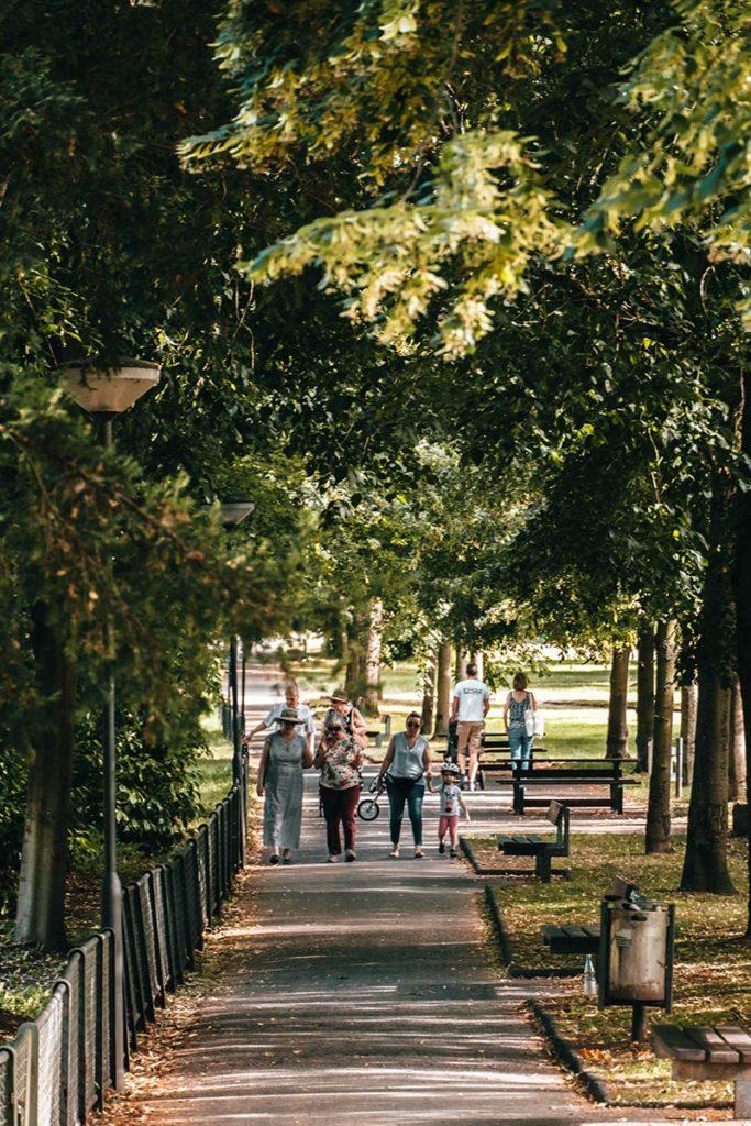 Pforzheim visiter Stadtgarten city garden allée Refuse to hibernate