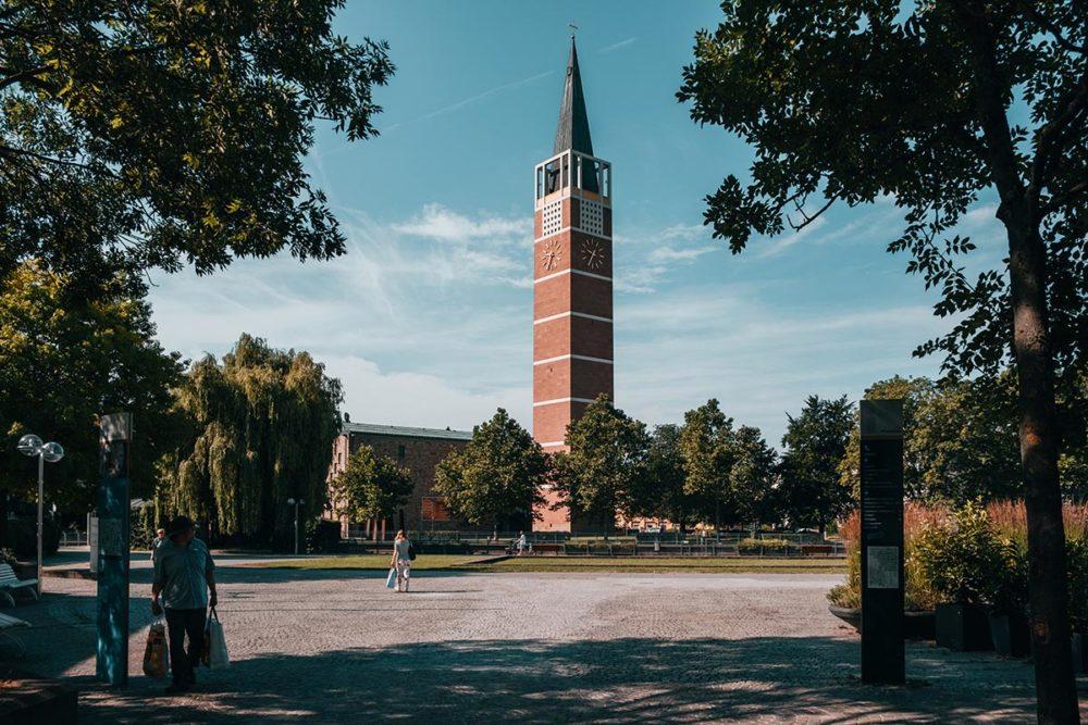 Pforzheim visiter Stadtkirche uhrturm Refuse to hibernate