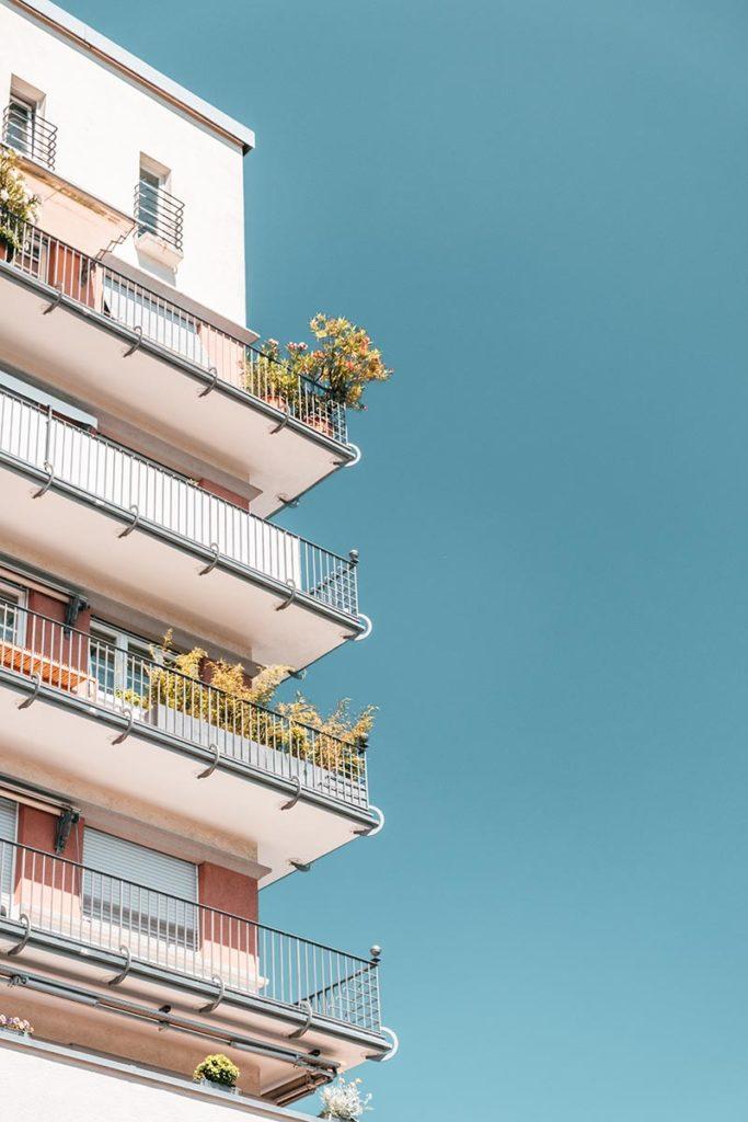 Stuttgart visiter en 1 jour Cité Weissenhof logements balcon Refuse to hibernate