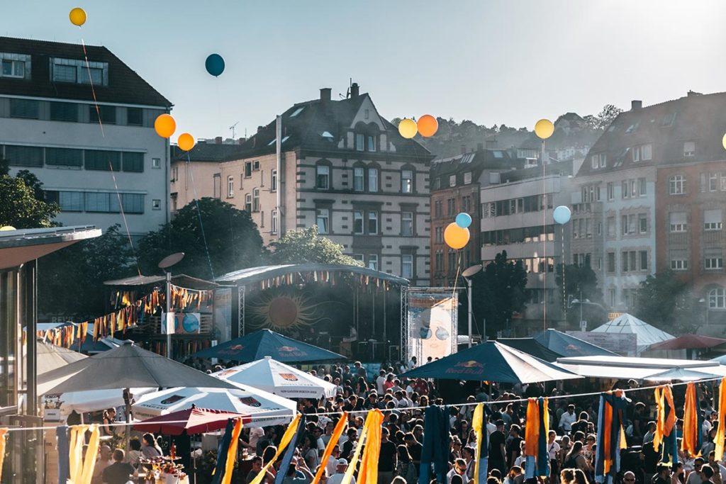 Stuttgart visiter en 1 jour Marienplatz festival musique Refuse to hibernate