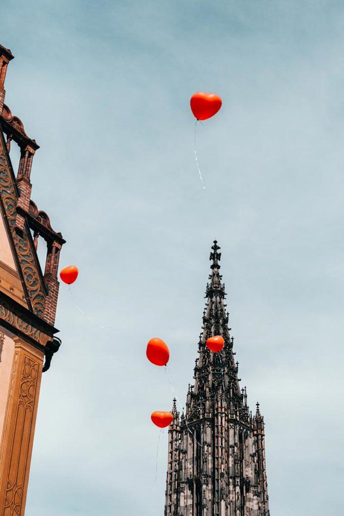 Ulm visiter en 2 jours Cathédrale ballons Refuse to hibernate