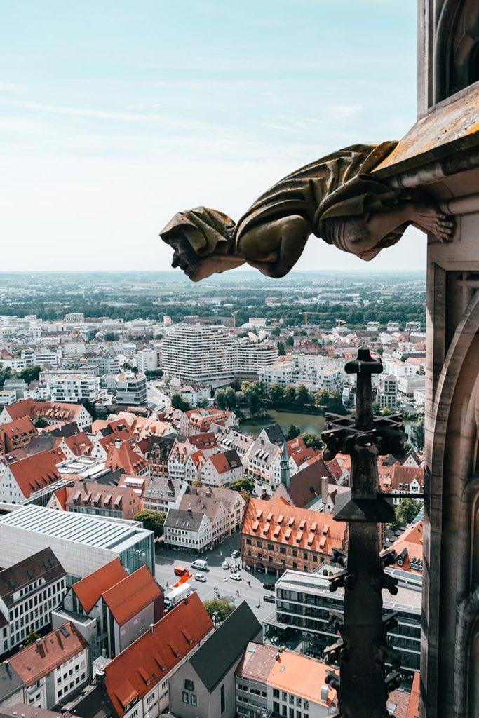 Ulm visiter en 2 jours Cathédrale gargouille Refuse to hibernate
