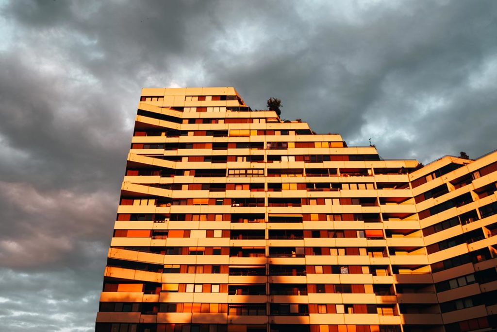 Ulm visiter en 2 jours coucher de soleil building Refuse to hibernate