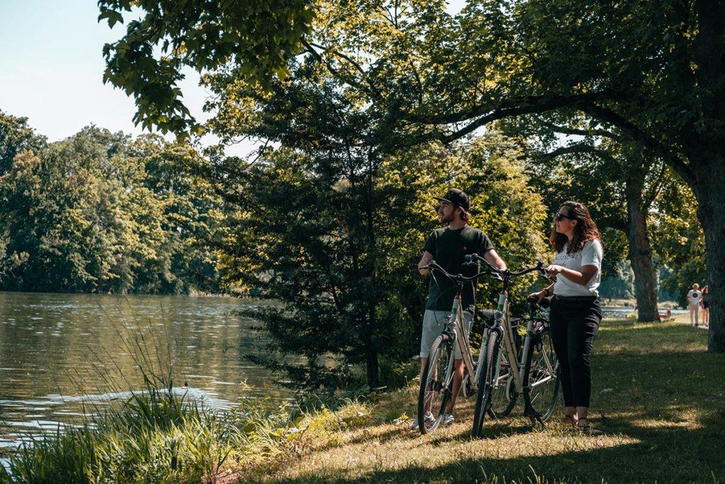 Ulm visiter en 2 jours parc Friedrichschau à vélo Le Danube Refuse to hibernate