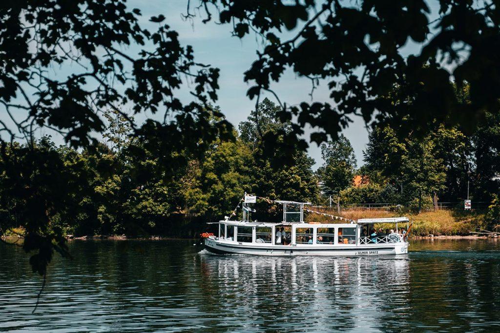Ulm visiter en 2 jours parc Friedrichschau bateau Le Danube Refuse to hibernate