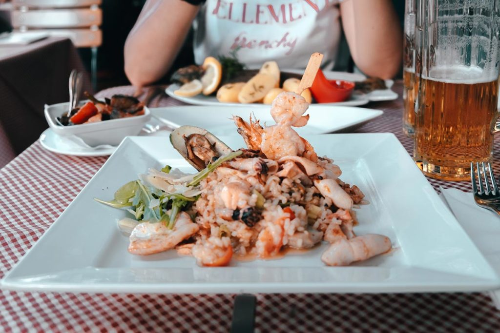 Ulm visiter en 2 jours restaurant Zur Forelle risotto Refuse to hibernate