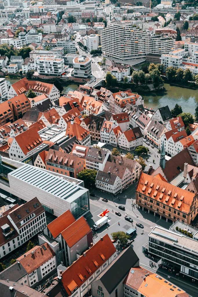 Ulm visiter en 2 jours vue sur la ville Refuse to hibernate