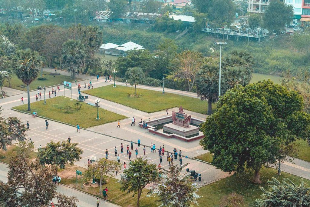 Battambang Classy Hotel cours aerobic Refuse to hibernate