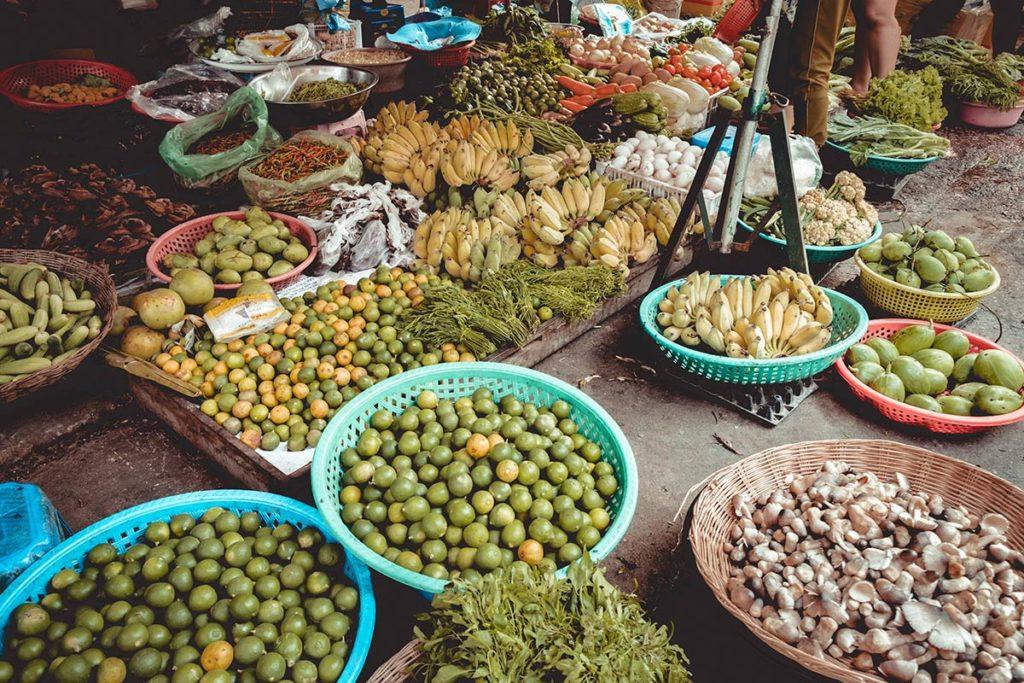 Battambang cours de cuisine Nary Kitchen achat citron Refuse to hibernate