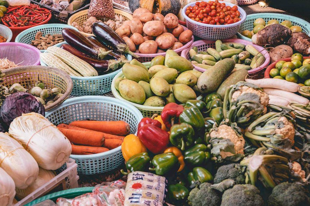 Battambang cours de cuisine Nary Kitchen légumes Refuse to hibernate