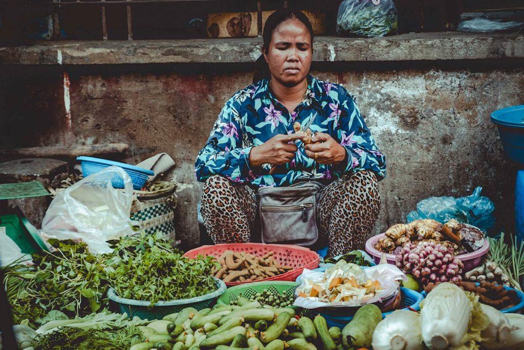 Battambang cours de cuisine Nary Kitchen marché Refuse to hibernate