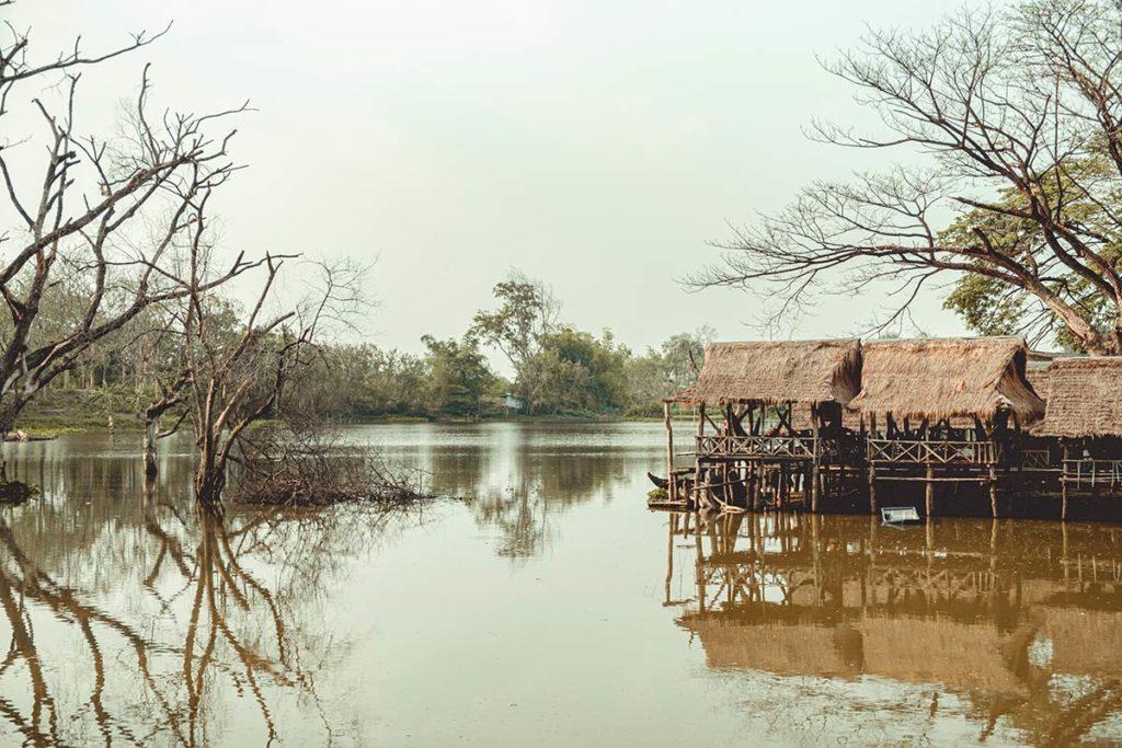 Battambang visiter Wat Banan pontons Refuse to hibernate