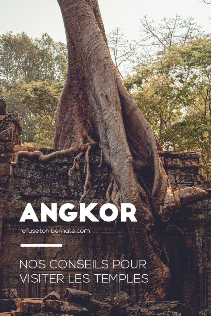Angkor conseils pour visiter les temples Pinterest