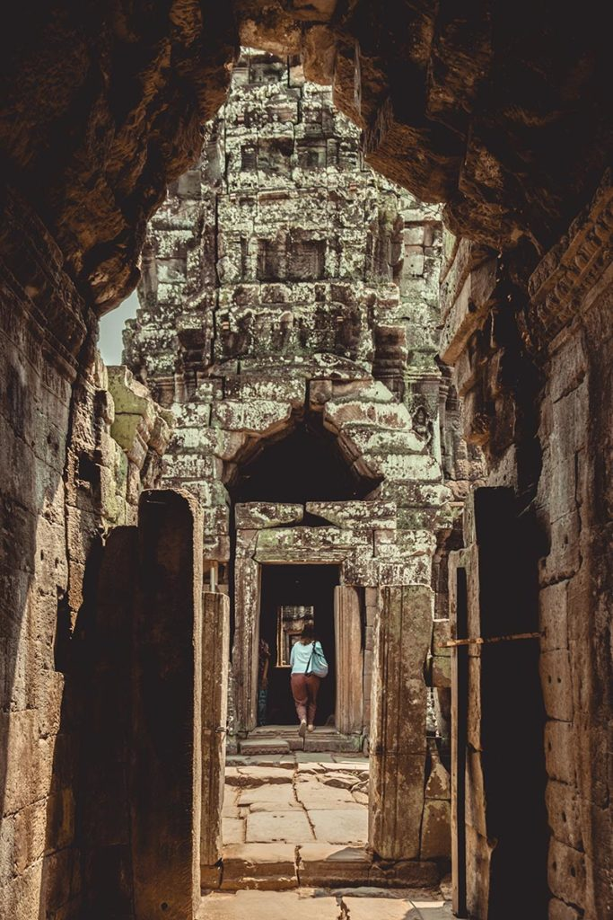 Banteay Kdei temples d'Angkor Audrey Refuse to hibernate