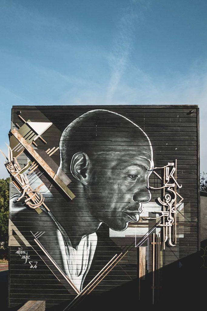 fresque murale artiste trip hop Tricky Bobigny