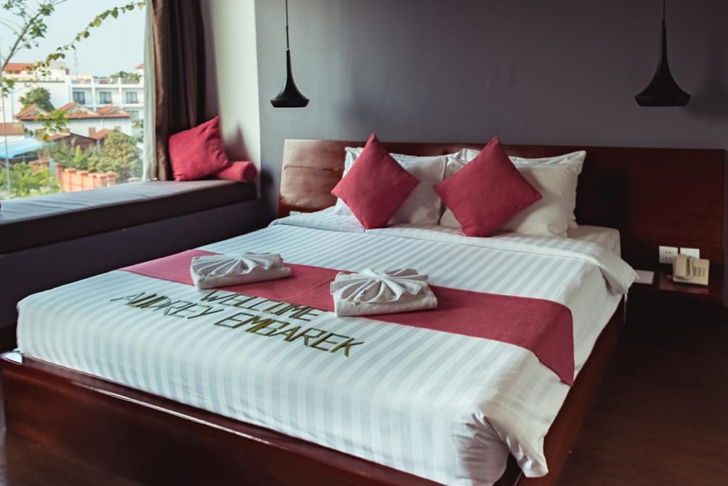 Hotel Residence 101 chambre Siem Reap Refuse to hibernate