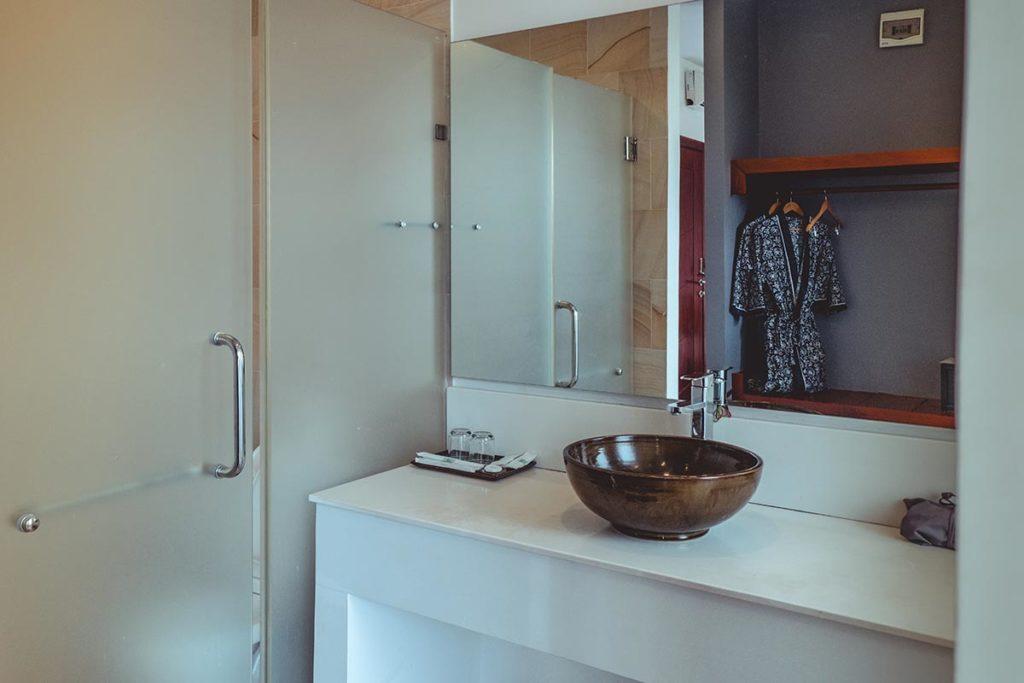 Hotel Residence 101 salle de bain Siem Reap Refuse to hibernate