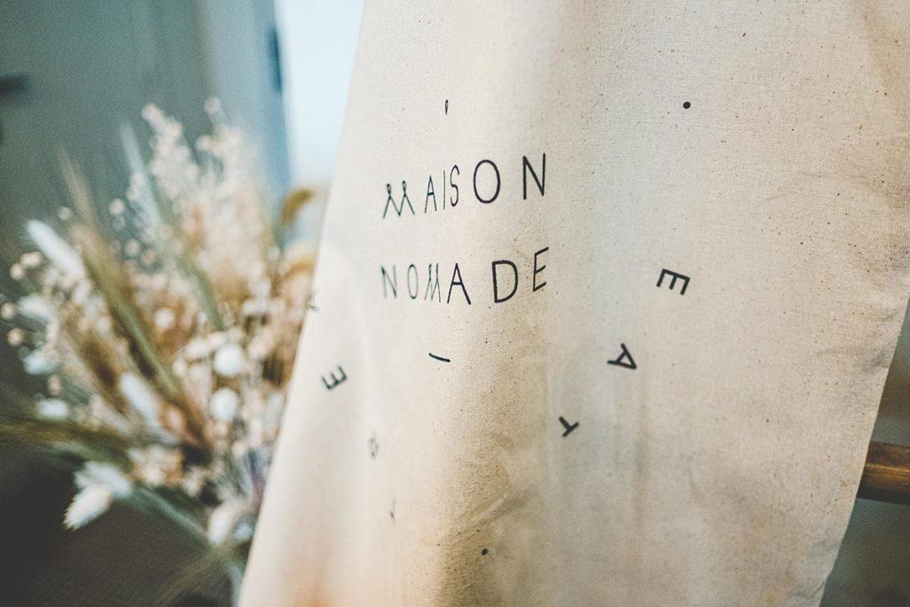 Maison Nomade logo Refuse to hibernate