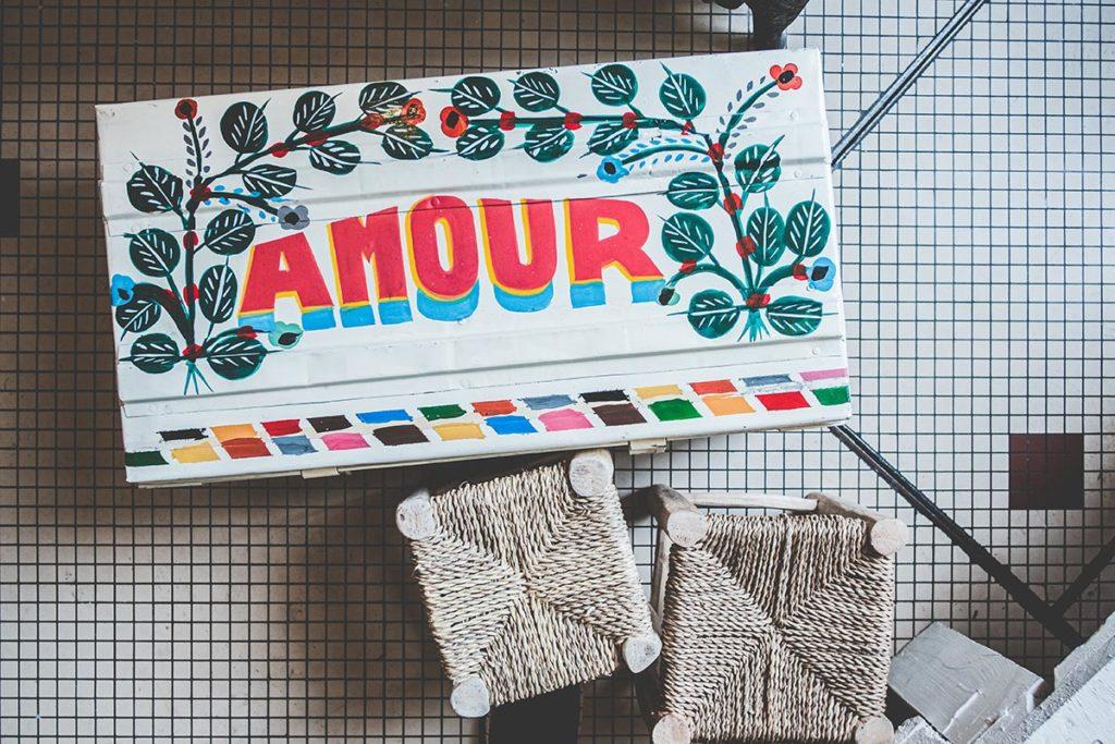 Maison Nomade malle amour Refuse to hibernate