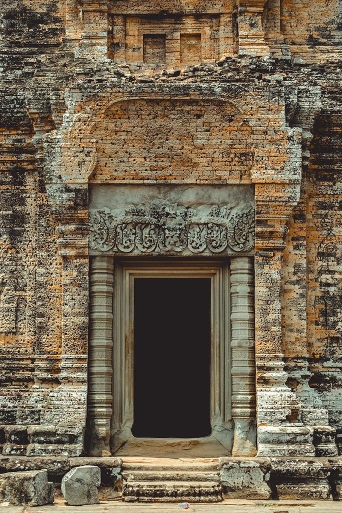 Mebon oriental temples d'Angkor porte Refuse to hibernate
