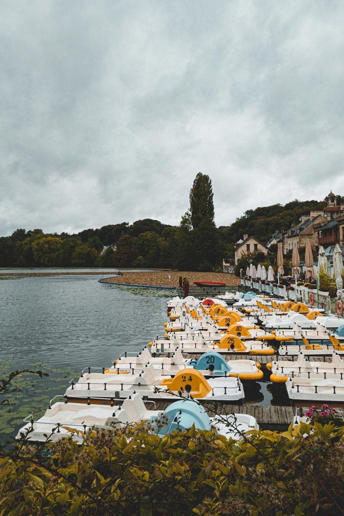 pédalo lac Pierrefonds