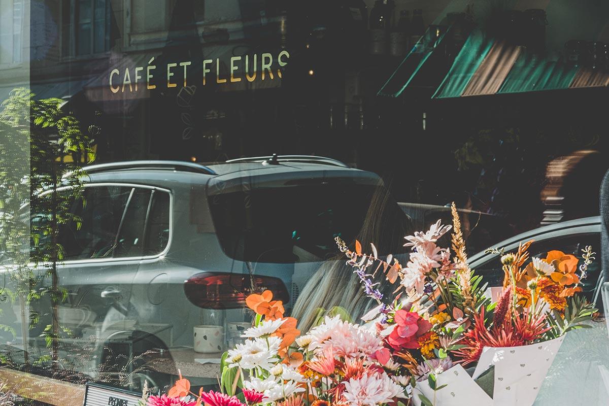 Peonies café et fleurs Refuse to hibernate