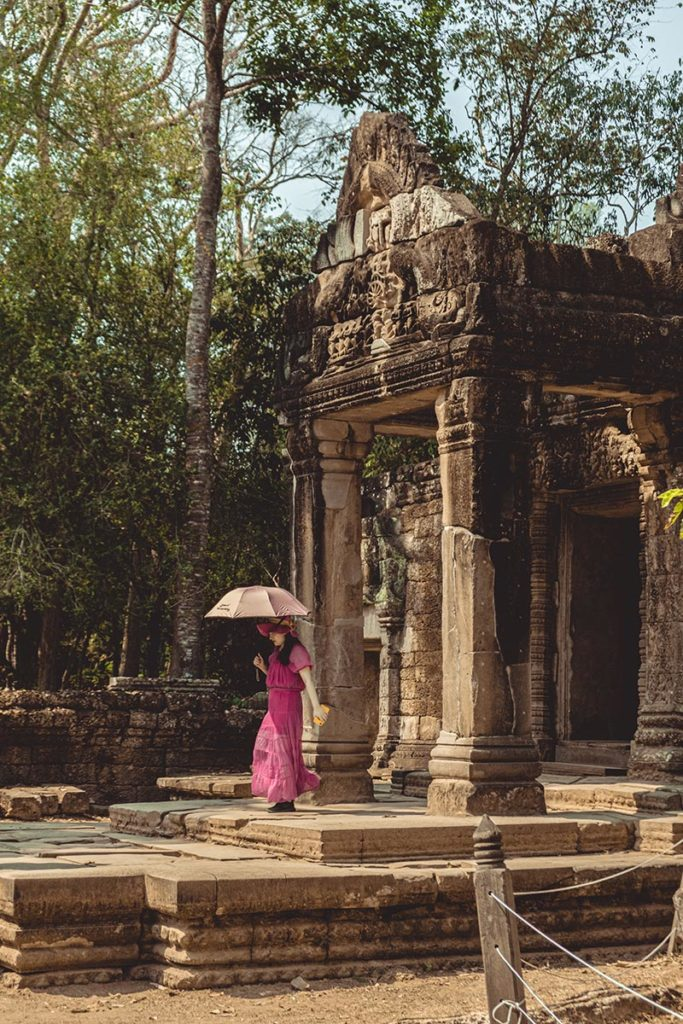 Quoi porter comme vêtements touriste temples d'Angkor refuse to hibernate