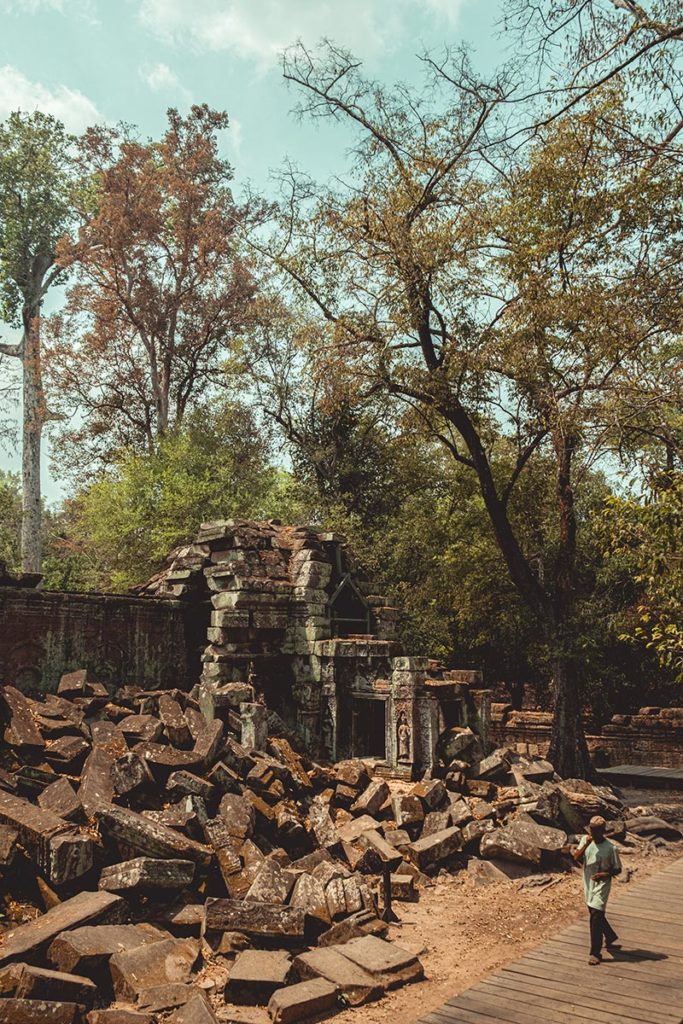 Ta Prohm temples d'Angkor pierres Refuse to hibernate
