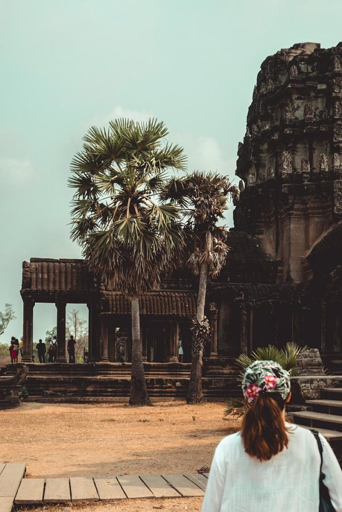 Temple d'Angkor Wat Audrey Refuse to hibernate