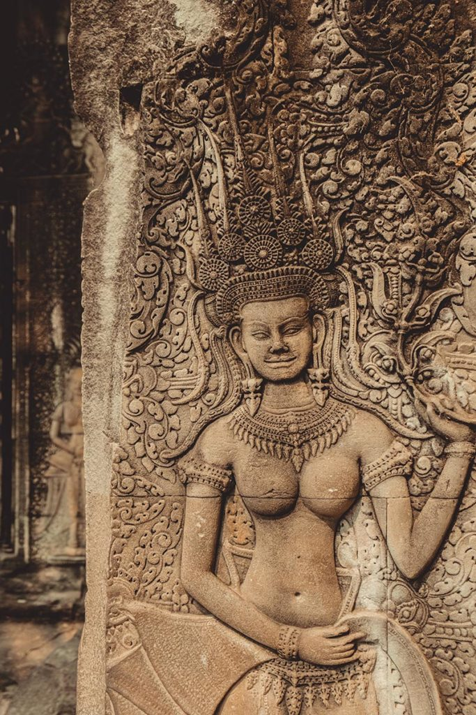 Temple d'Angkor Wat sculture Refuse to hibernate