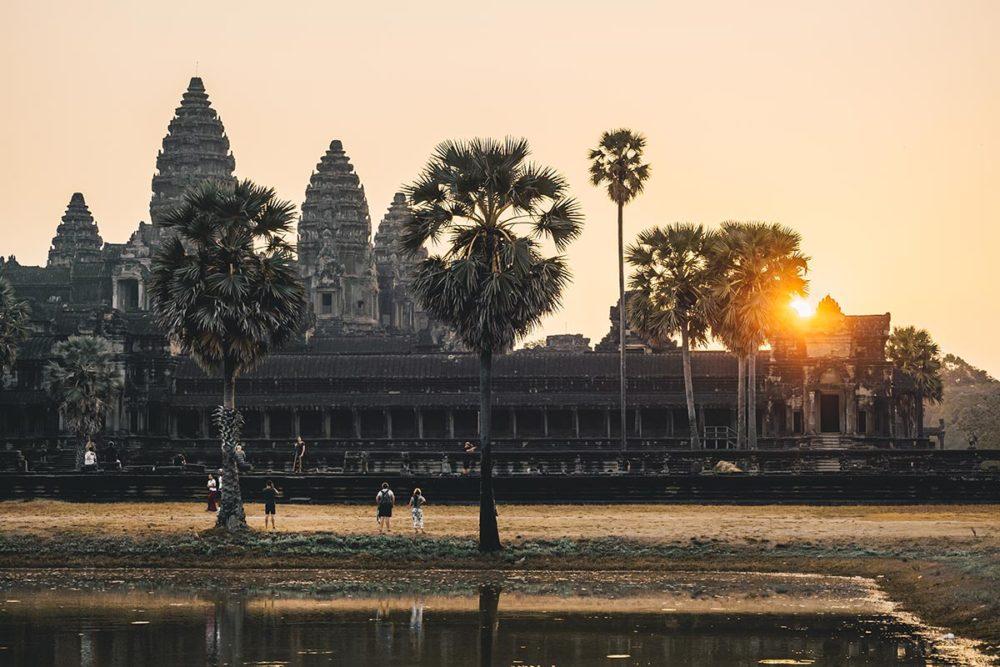 temples d'Angkor Wat lever de soleil Refuse to hibernate