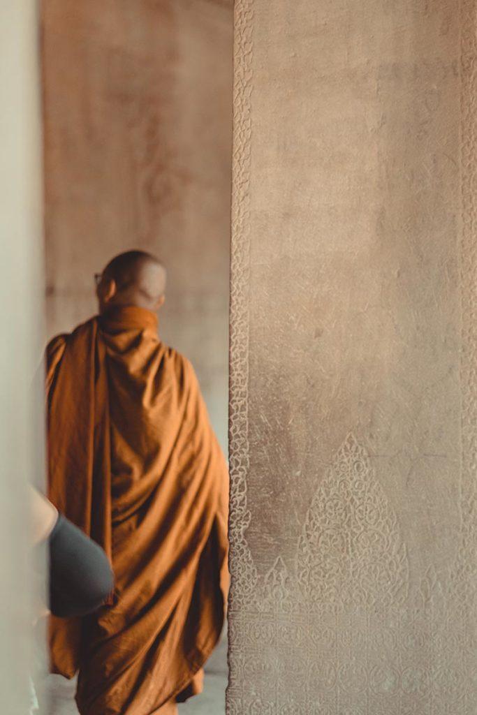 Temple d'Angkor Wat visite avec les moines Refuse to hibernate