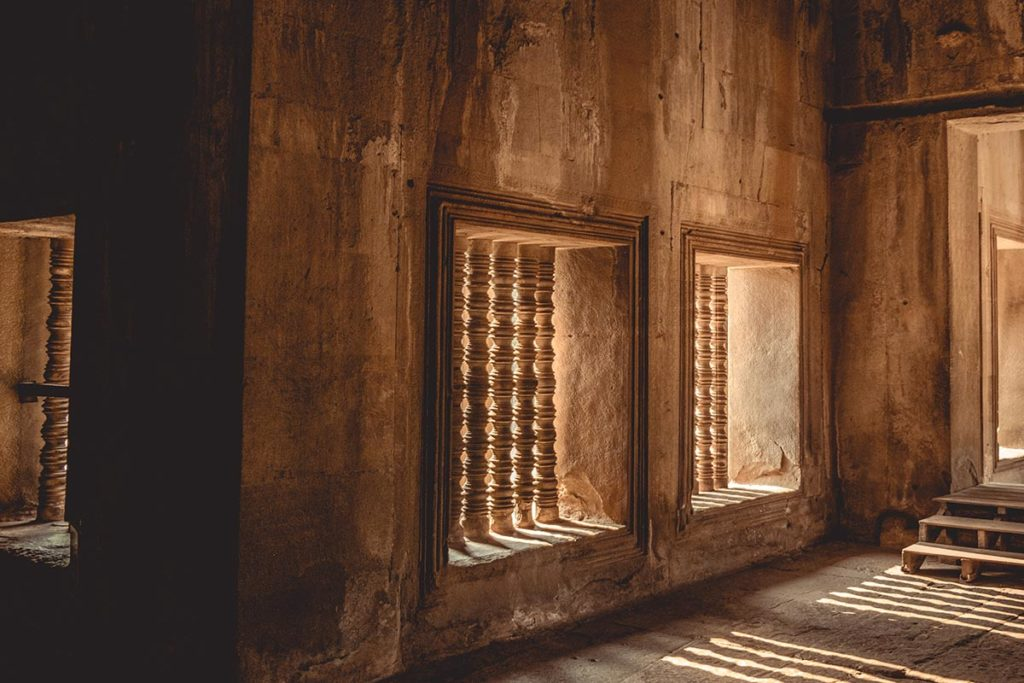 Temple d'Angkor Wat visite intérieur Refuse to hibernate