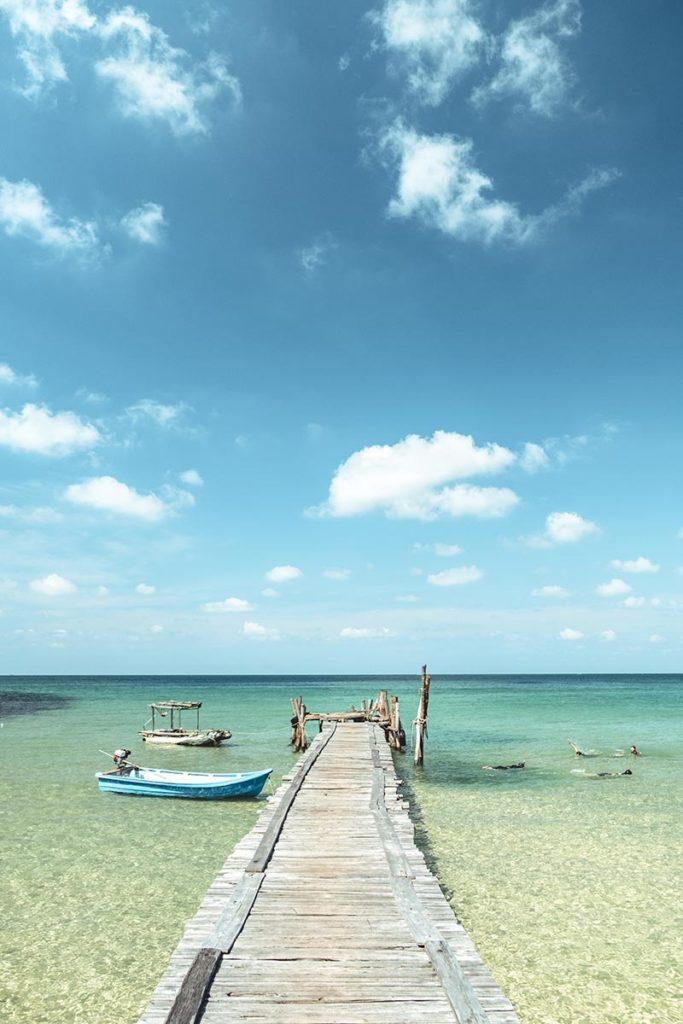 ponton de Lazy Beach Koh Rong Samloem Refuse to hibernate