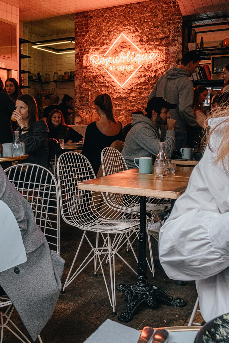 Republique of Coffee brunch Paris Refuse to hibernate