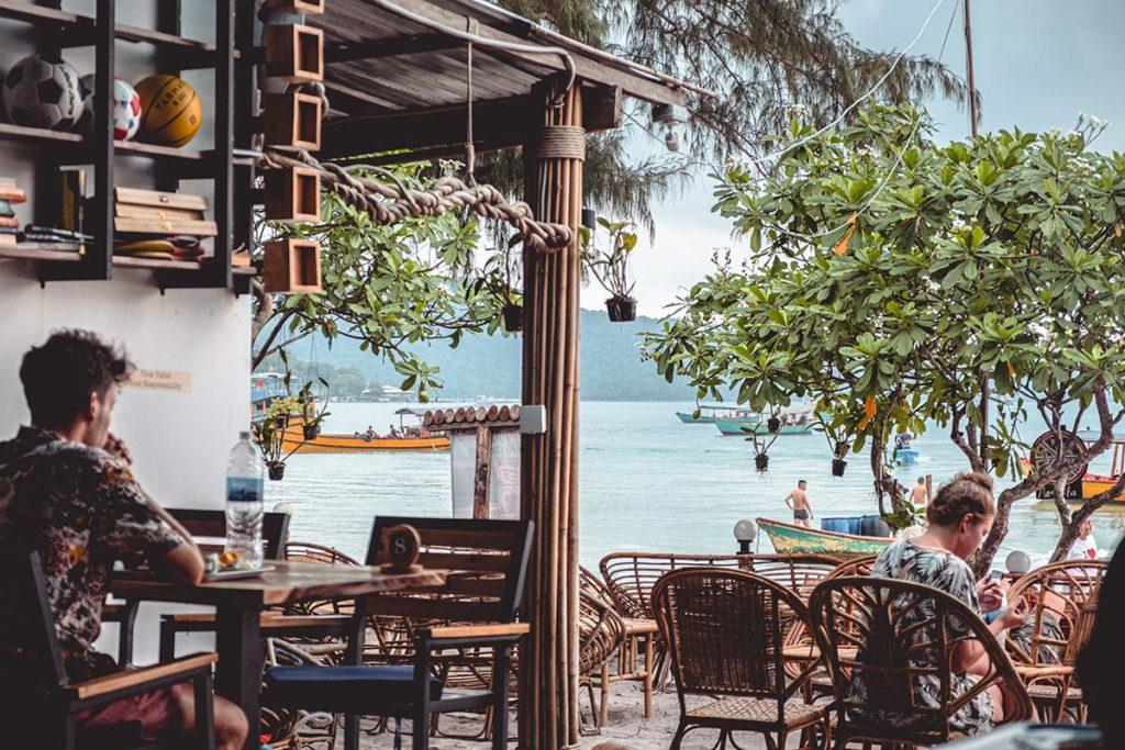 restaurant Onedertz Koh Rong Samloem Refuse to hibernate
