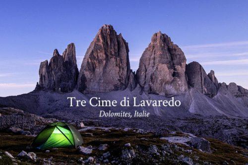 Tre Cime di Lavaredo Dolomites Italie vidéo Refuse to hibernate