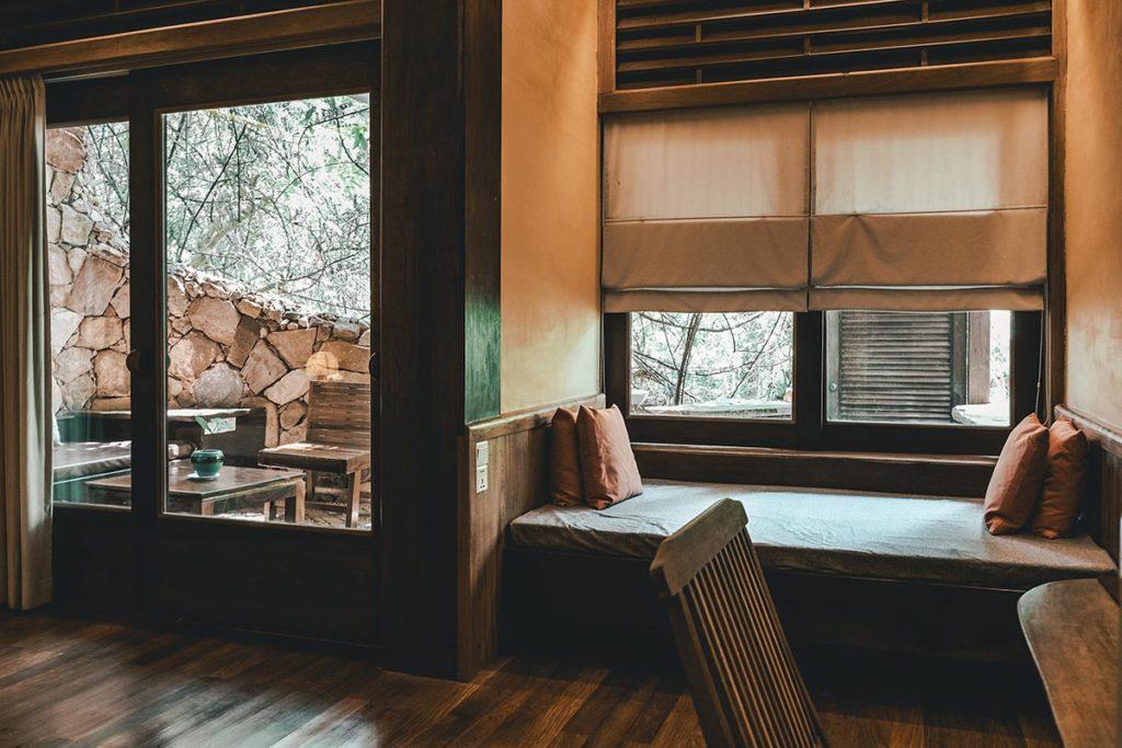 Veranda Natural Resort chambre canapé Kep Refuse to hibernate