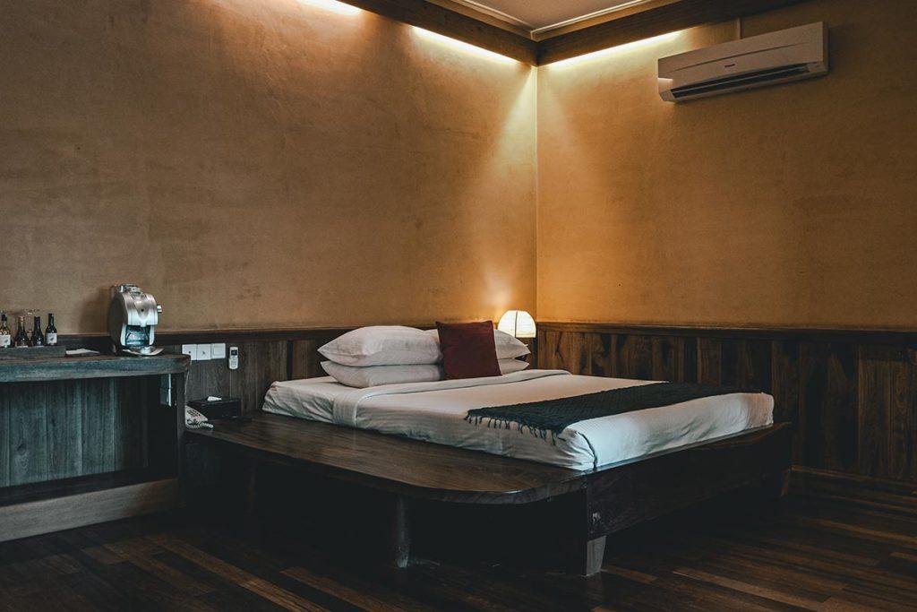 Veranda Natural Resort chambre lit Kep Refuse to hibernate
