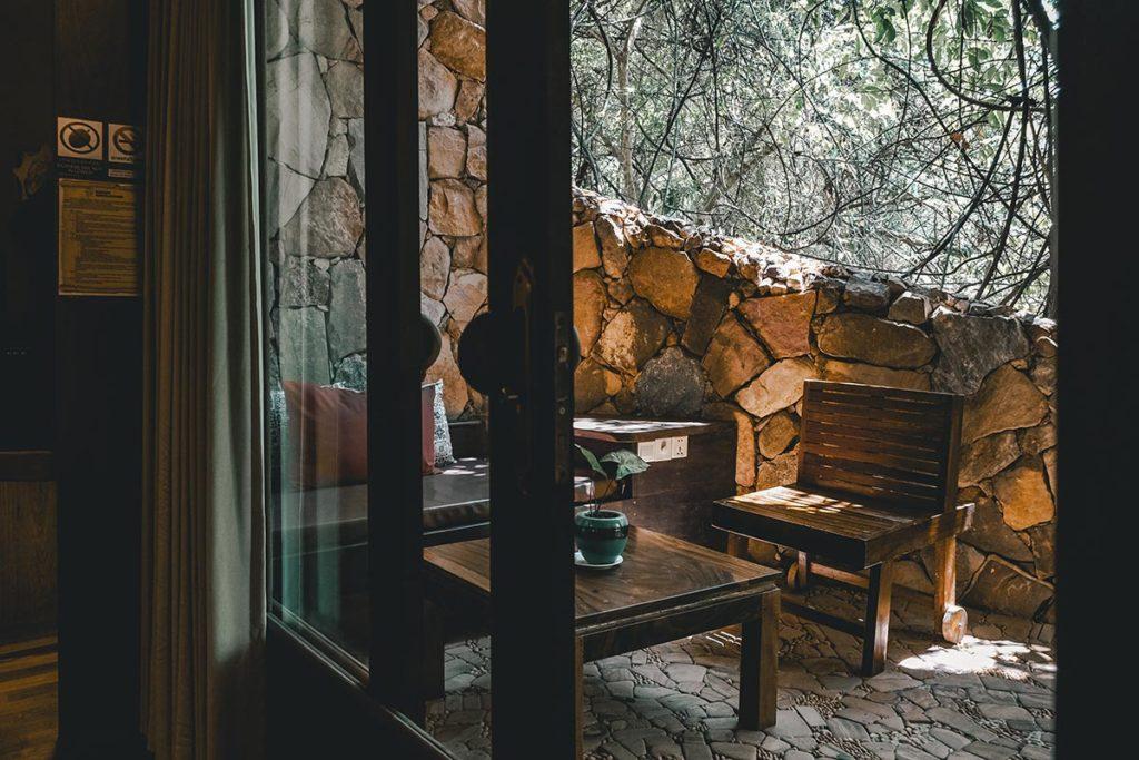 Veranda Natural Resort chambre terrasse Kep Refuse to hibernate