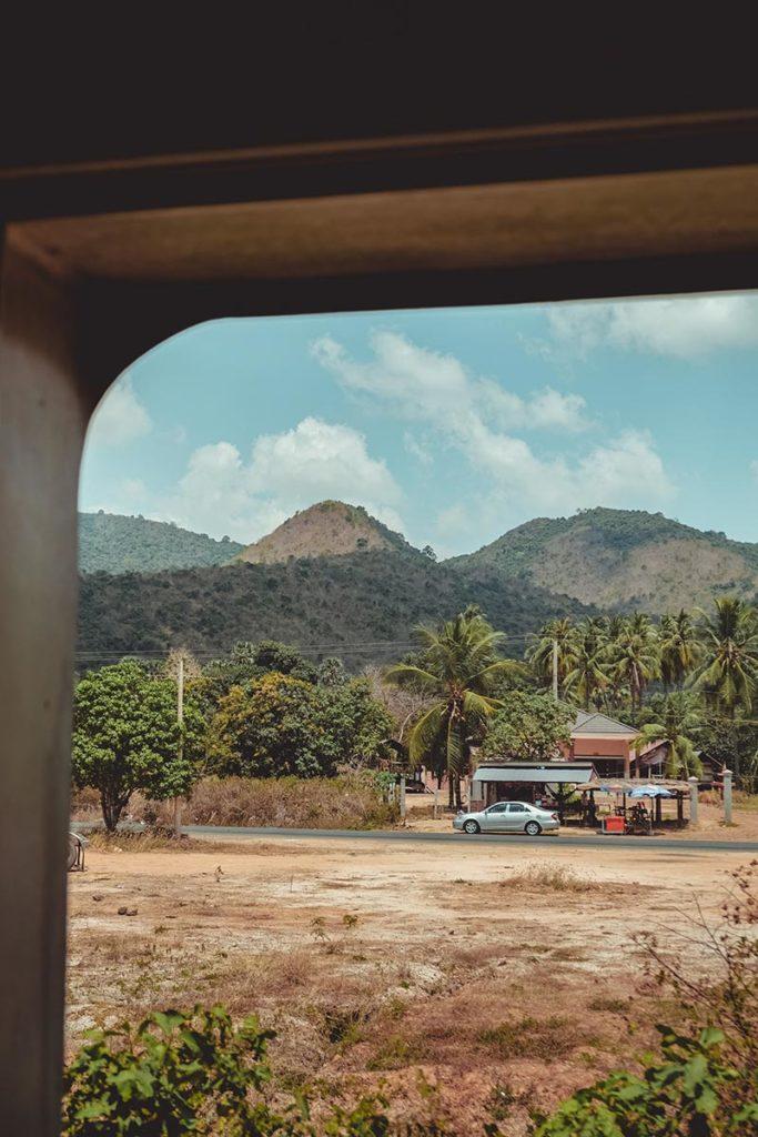 voyage en train Phnom Penh Kampot Refuse to hibernate
