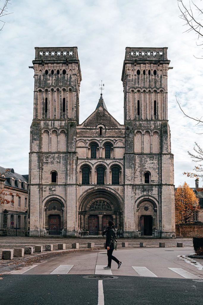 Abbaye aux dames façade Caen Refuse to hibernate