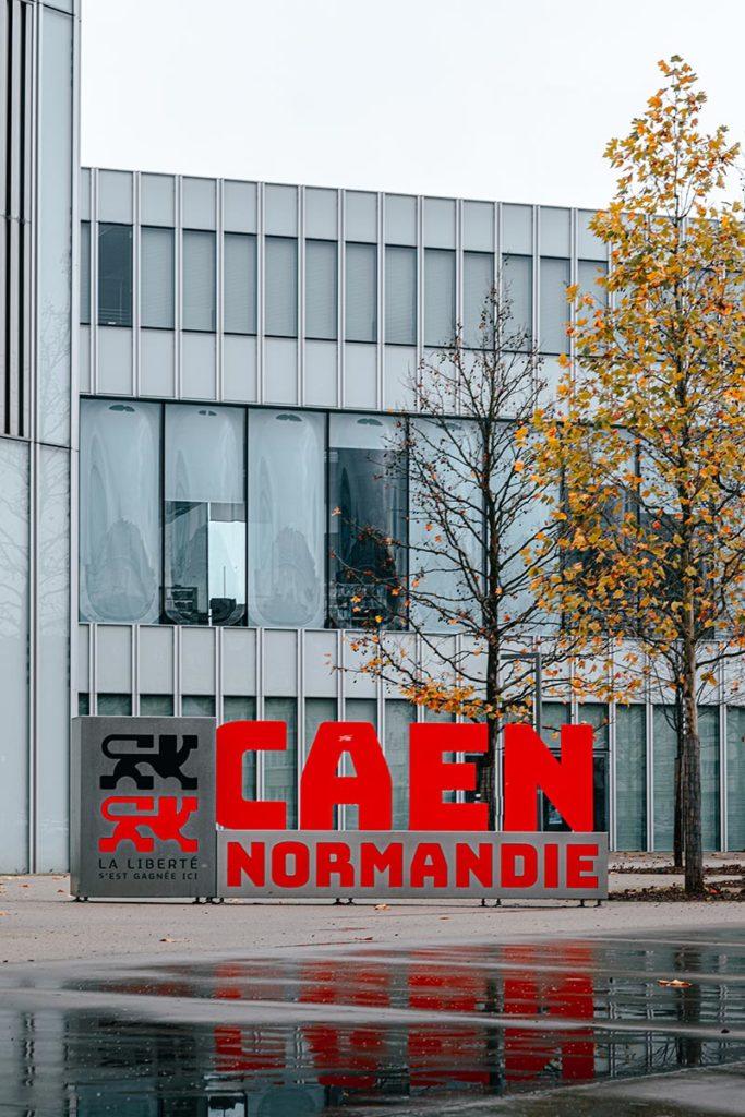 Bibliothèque de Caen Normandie Refuse to hibernate