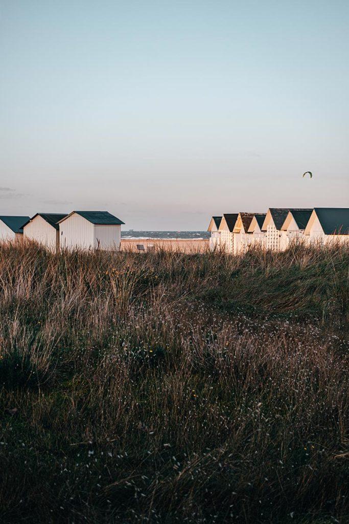 cabines plage de Ouistreham Refuse to hibernate