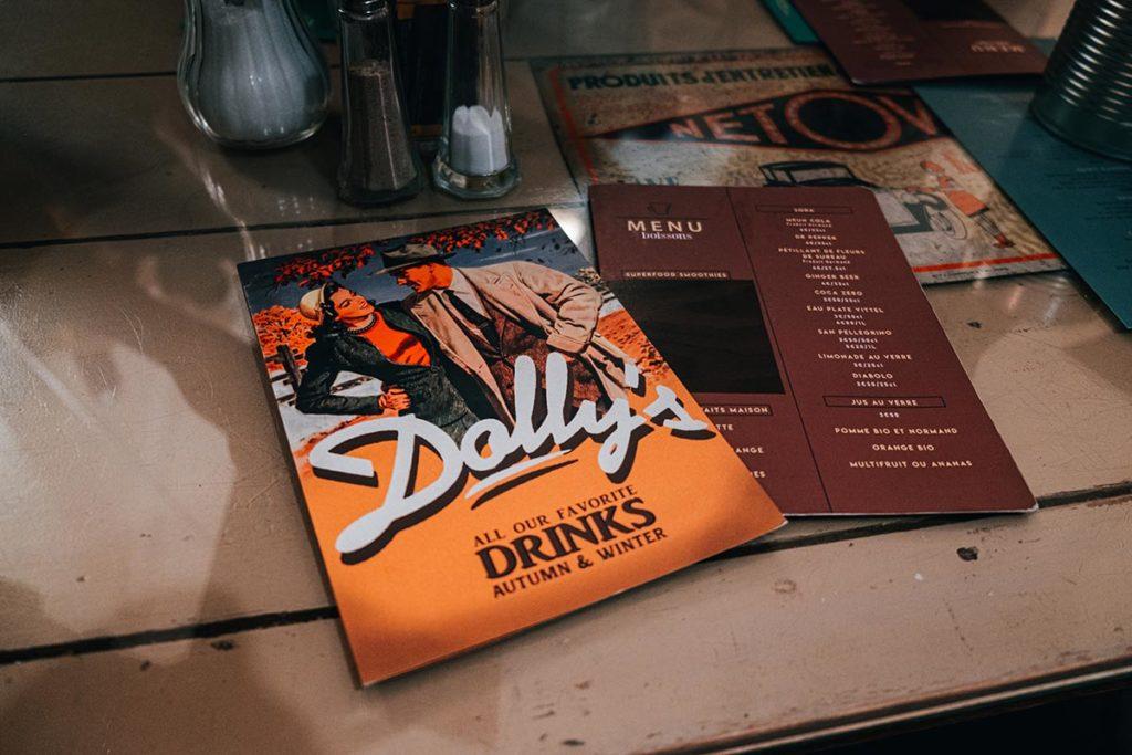 carte restaurant Dolly's Caen Refuse to hibernate